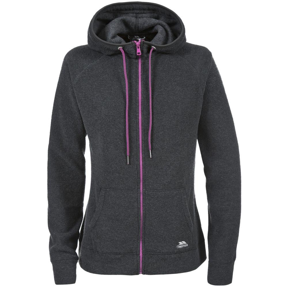 Product image of Trespass Ladies Berryfield Full Zip Warm Fleece Hoody