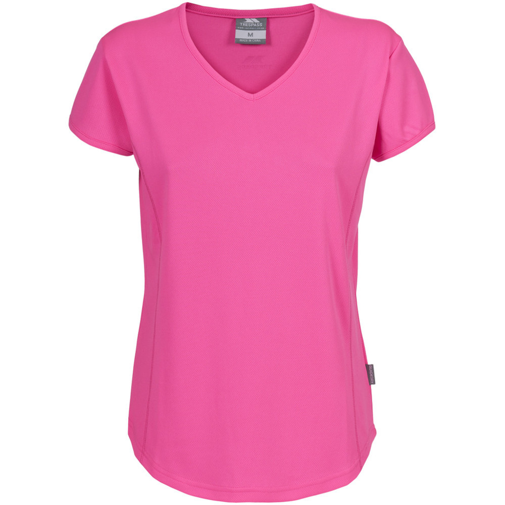 Product image of Trespass Ladies Trickle Round Neck Active Running T Shirt