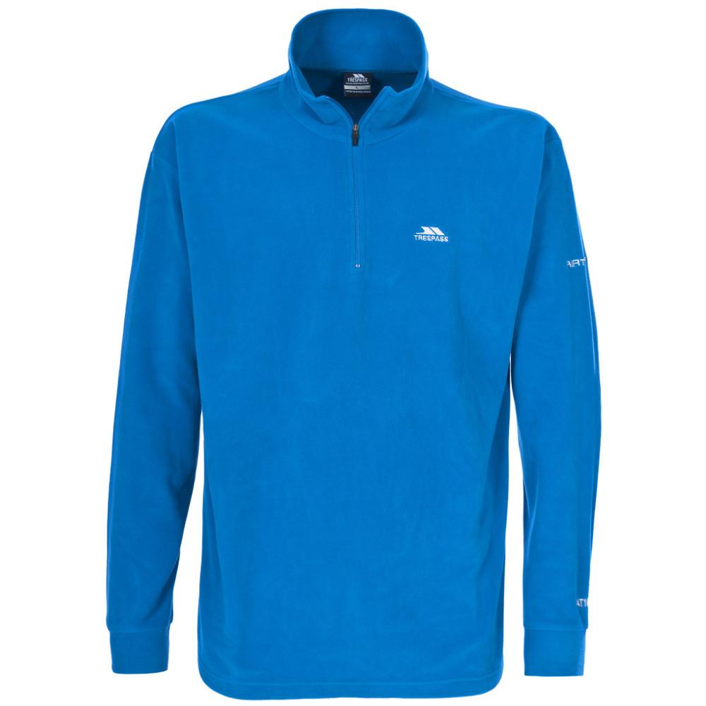 Product image of Trespass Mens Masonville Lightweight Half Zip Midlayer Fleece Top