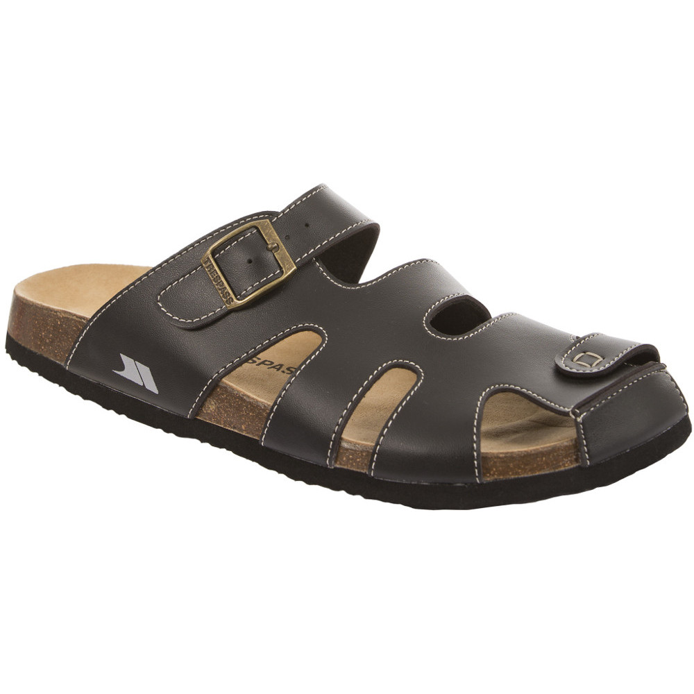 Product image of Trespass Mens Tama Casual Faux Leather Walking Sandal