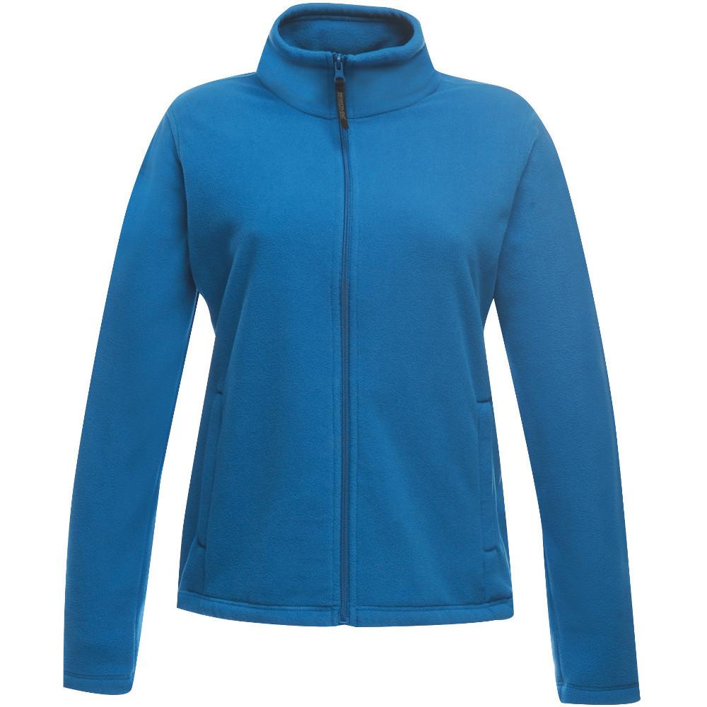 Regatta Professional Womens/ladies Micro Light Full Zip Fleece Top 10 - Bust 34 (86cm)