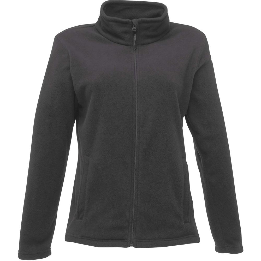Regatta Ladies Micro Full Zip Fleece Jacket TRF565 Grey