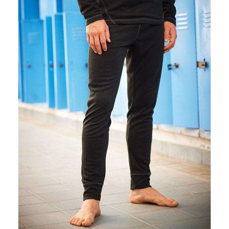 Product image of Regatta Mens Premium Base Layer Thermal Leggings Black