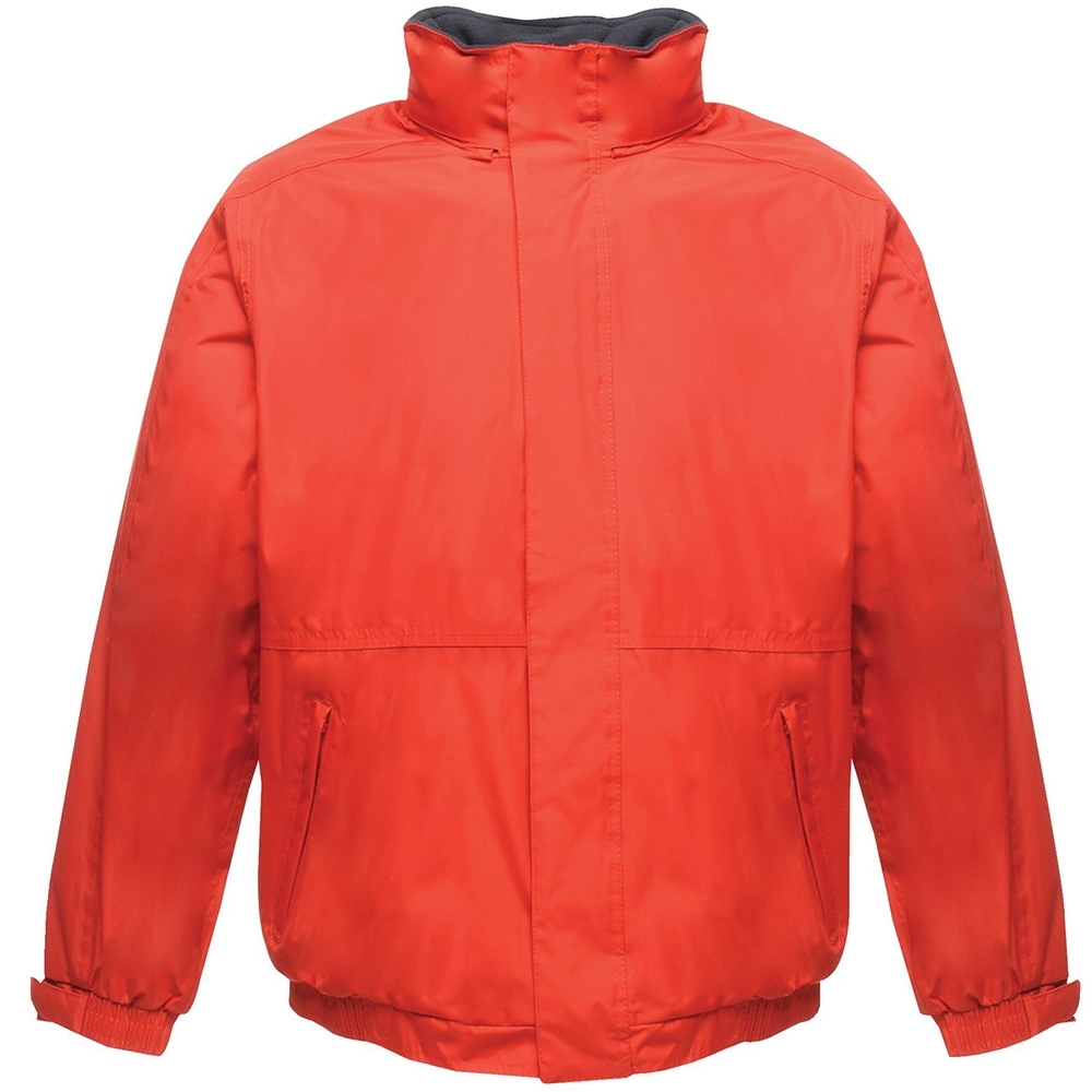 Clothing & Accessories|Clothing|Jackets & Vests|Jackets Regatta TRW297 Mens Waterproof & Windproof Dover Fleece Lined Padded Jacket XS- Chest 35-36' (89-91.5cm)