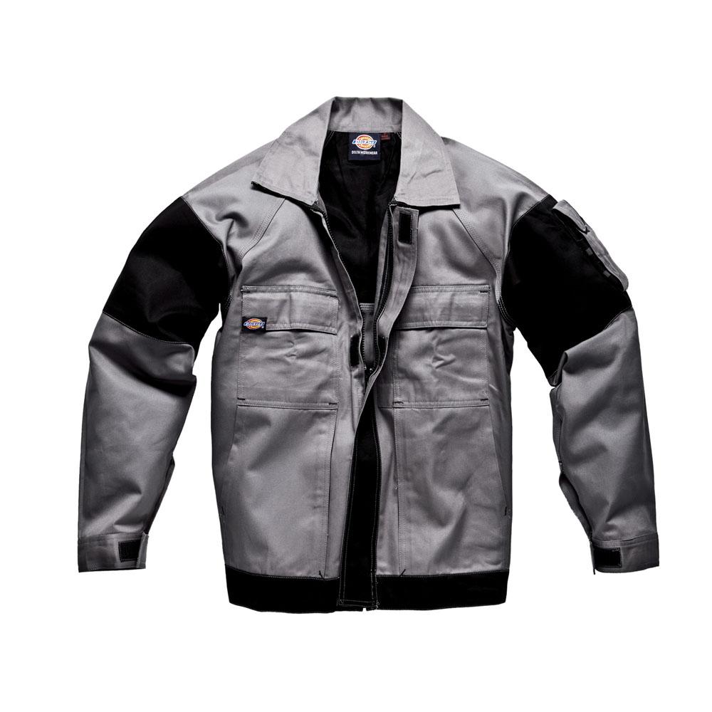 Dickies Mens Workwear GDT290 Jacket Grey Black WD4910G