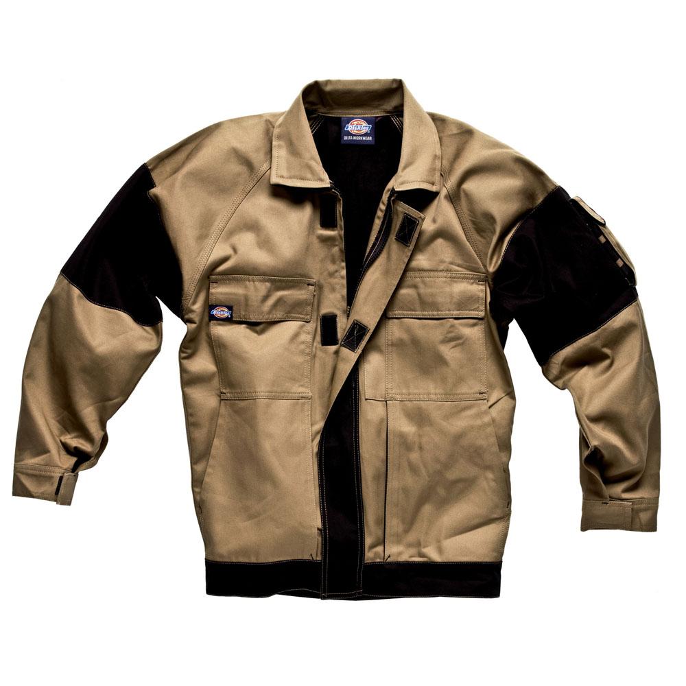 Dickies Mens Workwear GDT290 Jacket Khaki Black WD4910K