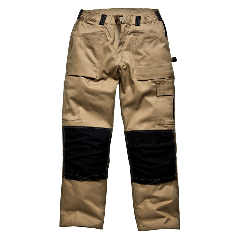 Clothing & Accessories|Clothing|Trousers & Shorts Dickies Mens Grafter Duo Tone 290 Workwear Cargo Trousers WD4930