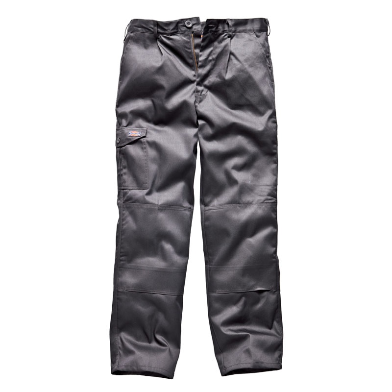 Clothing & Accessories|Clothing|Men's Dickies Mens Redhawk Super Workwear Trousers Grey WD884G