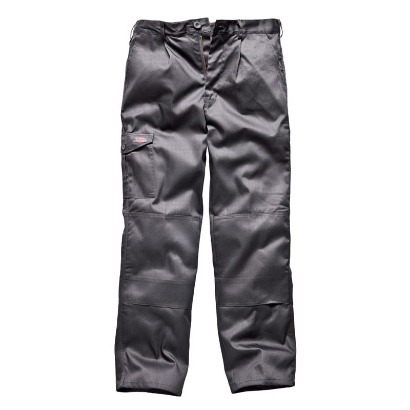Dickies Mens Redhawk Super Workwear Trousers Grey WD884G