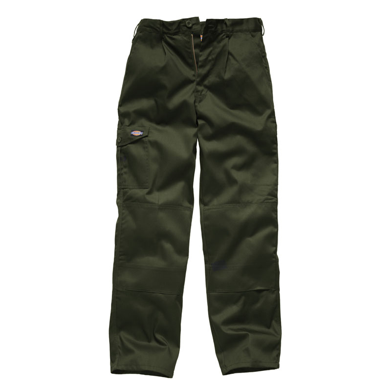 Clothing & Accessories|Clothing|Men's Dickies Mens Redhawk Super Workwear Trousers Olive WD884O