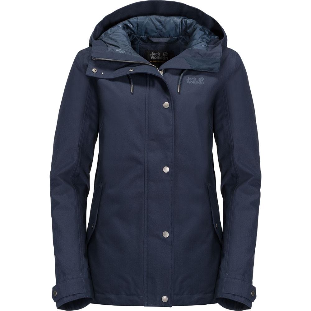 Jack Wolfskin Womens/Ladies Mora Waterproof Windproof Jacket