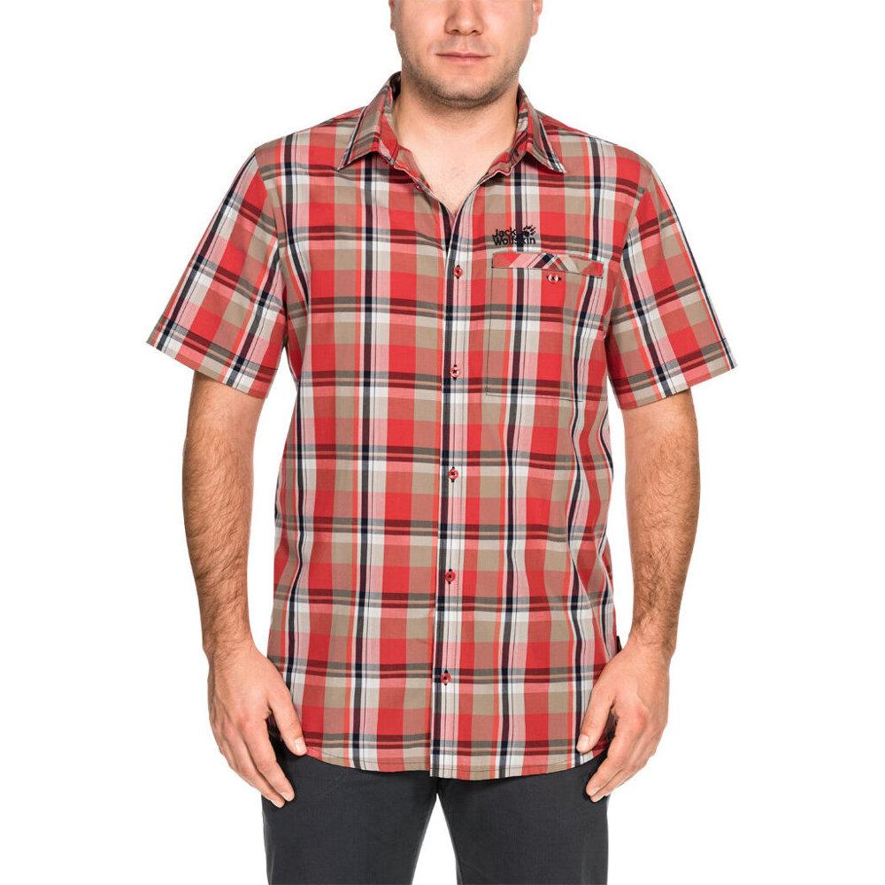 Jack Wolfskin Mens Fairford Organic Cotton Short Sleeve