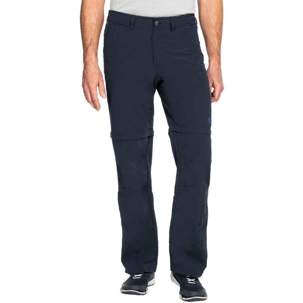 Jack Wolfskin Mens Canyon Zip Off Breathable Travel Walking
