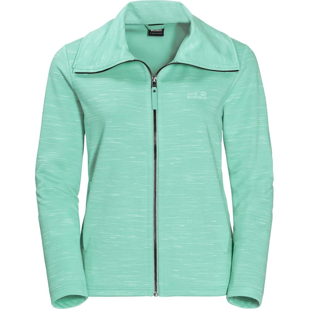 Jack Wolfskin Womens/Ladies Oceanside Light Breathable Fleece Jacket 14 - Bust 39 (98-102cm)