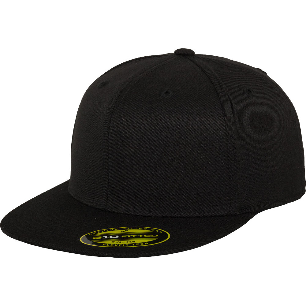 Flexfit By Yupoong Mens Premium 210 Premium Wool Fitted Baseball Cap Small / Medium