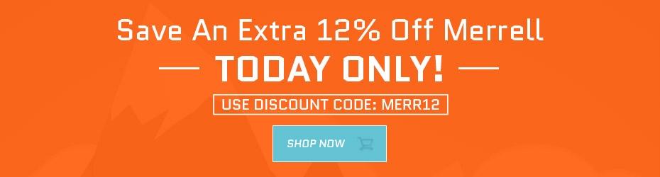 12% Off Merrell